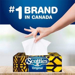 $1.89($0.02/张) 双层白菜价:Scotties 双层抽纸 柔软结实优质面料 每盒126抽