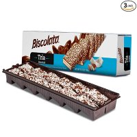 Biscolata 椰蓉巧克力威化饼干 3盒装