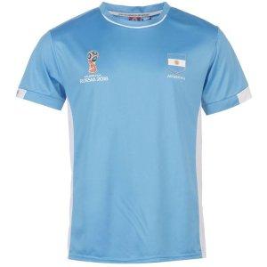 阿根廷 世界杯主题 T恤