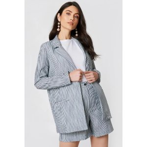 Stripe Detailed Jacket 西装外套