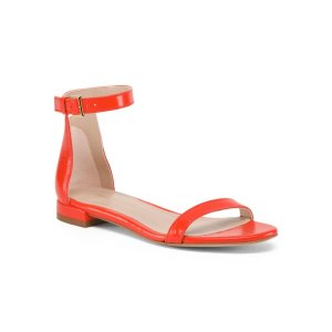 Made In Spain One Band Leather Flat Sandals