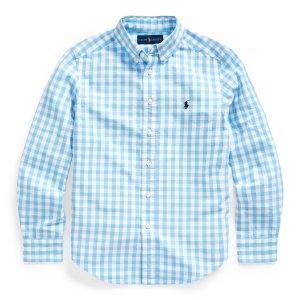 Ralph LaurenGingham Cotton-Blend Shirt