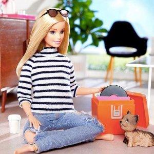 低至7折起 Barbie最低$5.95收儿童玩具、座椅、床特卖,Barbie 娃娃、汽车、Uno等,多大孩子玩的都有