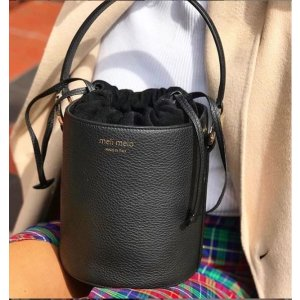 MeliMeloSantina Mini | Bucket Bag | Black