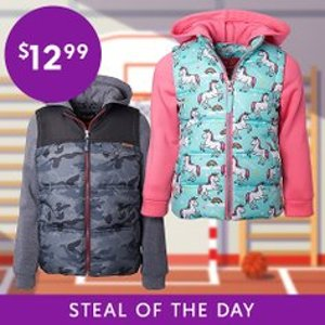 All for $12.99Zulily Kids Score Cozy Coats Sale