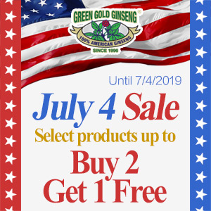 Up to 30% off of Cleaning Products100% Authentic American Wisconsin Ginseng: Green Gold Ginseng LLC