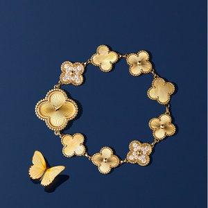 花朵手链女生必备Van Cleef & Arpels 梵克雅宝 经典款式
