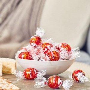 现价$9.99(原价$12.99)Lindt 精选松露巧克力28颗 礼袋装限时大促