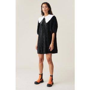 Ganni小黑裙