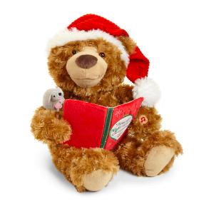 Gund 真的会发声讲故事的小熊玩偶优惠 还包邮哦