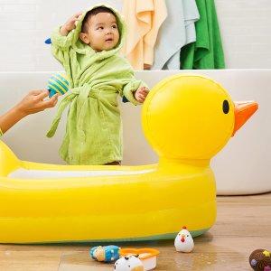 $15.6(原价$19.95)史低价:Munchkin 大黄鸭充气宝宝浴缸 让宝宝快乐洗澡