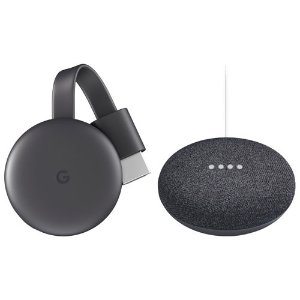 Google home+chromecast