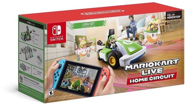 《马里奥赛车 Live》Nintendo Switch AR赛车游戏 路易吉版