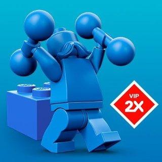2X VIP PointsLEGO Brand Retail Promotion