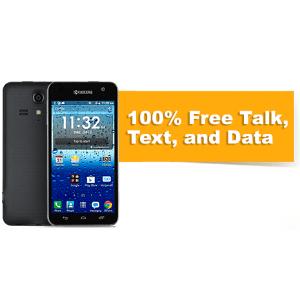 $29.99购 Kyocera Hydro Vibe + 首月2GB免费数据服务