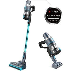 $219(原价$299)限今天:Jashen V18无绳吸尘器 带LED面板 可清洁地毯、宠物毛发