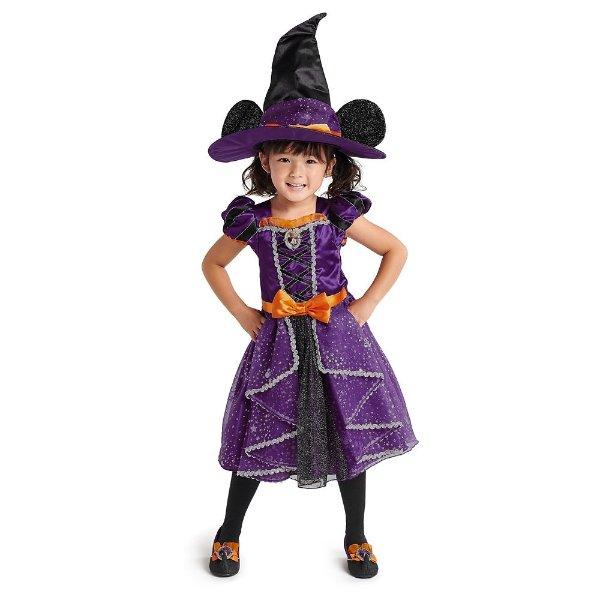 米妮巫婆造型儿童服饰