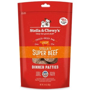 Stella & Chewy'sStella & Chewy's Stella's Super Beef Grain Free Dinner Patties Freeze Dried Raw Dog Food | Petflow