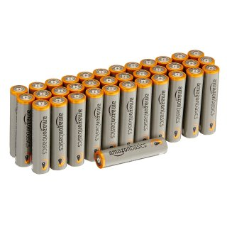 $7.37 (原价$10.99)AmazonBasics AAA 7号电池,36节装