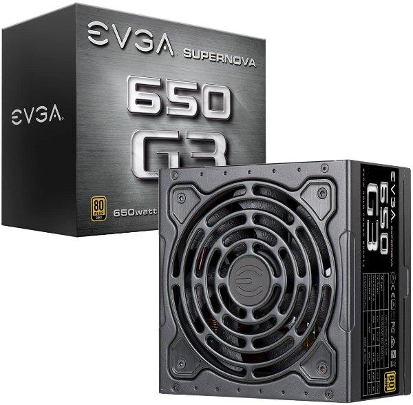 SuperNOVA 650 G3 650W 80+ 金牌全模组电源