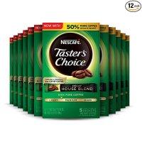 Nescafe Taster's Decaf 金牌速溶咖啡粉 12盒共60条