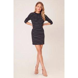 My Stripe of Gal Striped Shift Dress