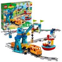 Lego 得宝系列智能货运火车10875,app控制 感应积木