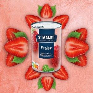 首单订阅8折St Mamet 草莓罐头 415g