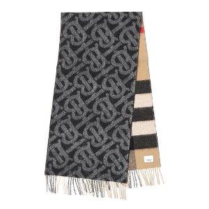 仅$499.99(原价$790)上新:巴宝莉 Monogram新款双面格纹围巾 送礼佳品 变相6.3折
