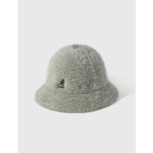 KangolS毛绒圆顶渔夫帽