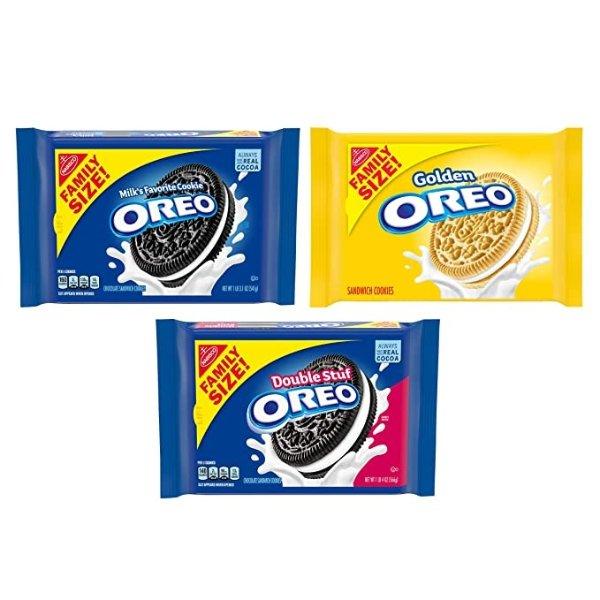 混合口味奥利奥 3袋装