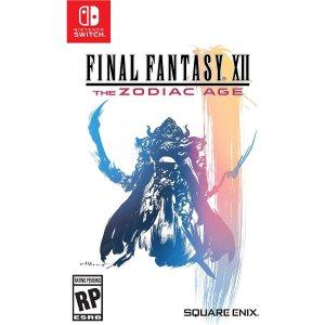 $34.99 (原价$49.99)《最终幻想12:黄道时代》Switch 实体版 支持中文游玩