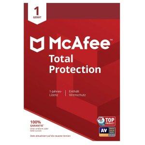 低至€9.77收正版杀软McAfee Total Protection杀毒软件实体版特价 多用户版本可选