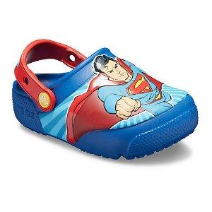 7折 收复仇者联盟款Crocs官网 儿童夏日新款凉鞋热卖,有闪灯款