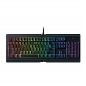 $34.99史低价:Razer 萨诺狼蛛 RGB 薄膜游戏键盘