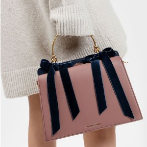 Up to 50% Off+Extra 10% Off 2 ItemsCharles & Keith Bow Detail Handbags Sale
