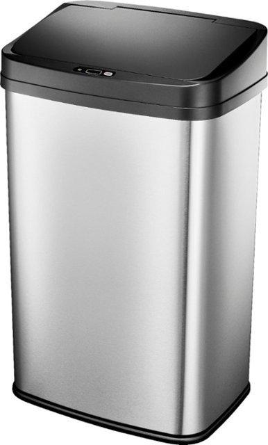 13 Gal. 不锈钢自动垃圾箱
