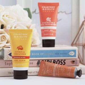 Buy 1 Get 1 Free+20% OffWith Hand Cream Purchase @ Crabtree & Evelyn