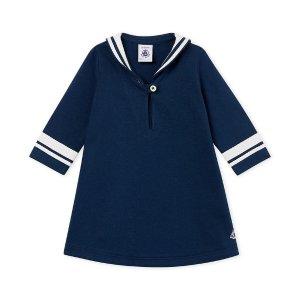 Petit BateauBaby Girl's S/S Collared Sailor Dress