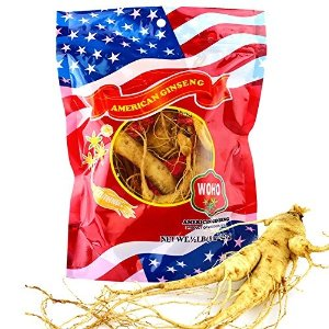 WOHOCultivated Fresh Ginseng American Ginseng Jumbo 8oz (6-8 Roots) by