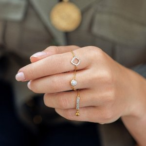 4折起 $105收友谊戒指闪购:Monica Vinader 戒指专场 $75收幸运石戒指 收封面款