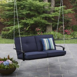 $92.62Mainstays Belden Park Outdoor Porch Swing with Cushion, Seats 2