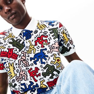 f0308cd1 LacosteMen's Keith Haring Print Pique Polo. $165.00. Lacoste ...