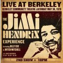 $10.9 下单锁价Live At Berkeley - Jimi Hendrix 黑胶唱片