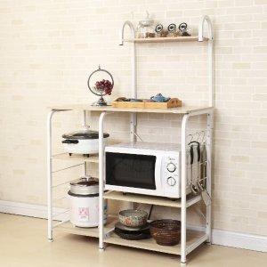 $89(原价$109)闪购:Soges 超实用厨房四层收纳桌 让厨房不再凌乱