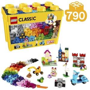 €35.99 (原价€49.99)LEGO 经典创意大号积木盒热卖