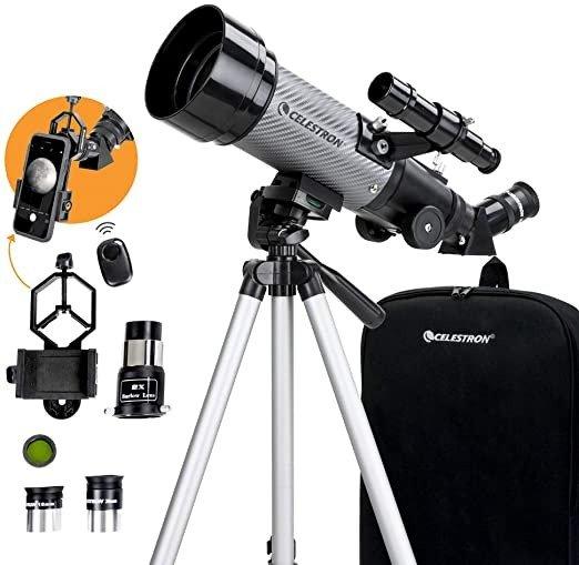 便携式天文望远镜