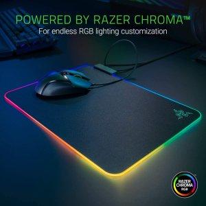 $59.99(原价$69.99)Razer Firefly 烈焰神虫V2 炫彩鼠标垫 全方位亮起来