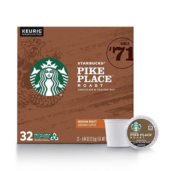 Pike Place 中焙咖啡胶囊 32颗