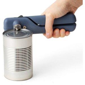 $27.56(原价$30.99)Chef'n 开罐器雾霾蓝色 简约外观 磁吸按钮取盖不脏手